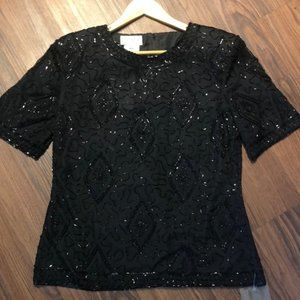 Stenay Vintage 80's Evening Blouse NWT